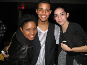 Cesar, my friend Brittany Perkins, and I back in 2010.